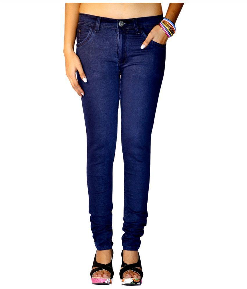 Ansh Fashion Wear Blue Denim Jeans