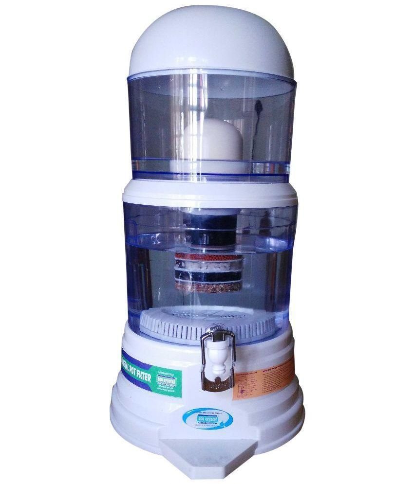 Eco Crystal 10 Mineral Pot Filter Korean Technology Uf