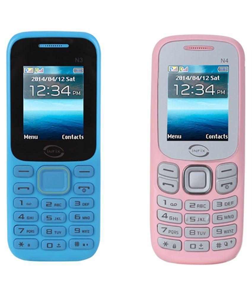 Infix N3&N4 Below 256 MB Blue