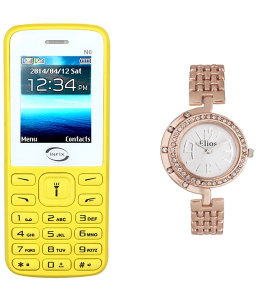 Infix N6 Below 256 MB Yellow