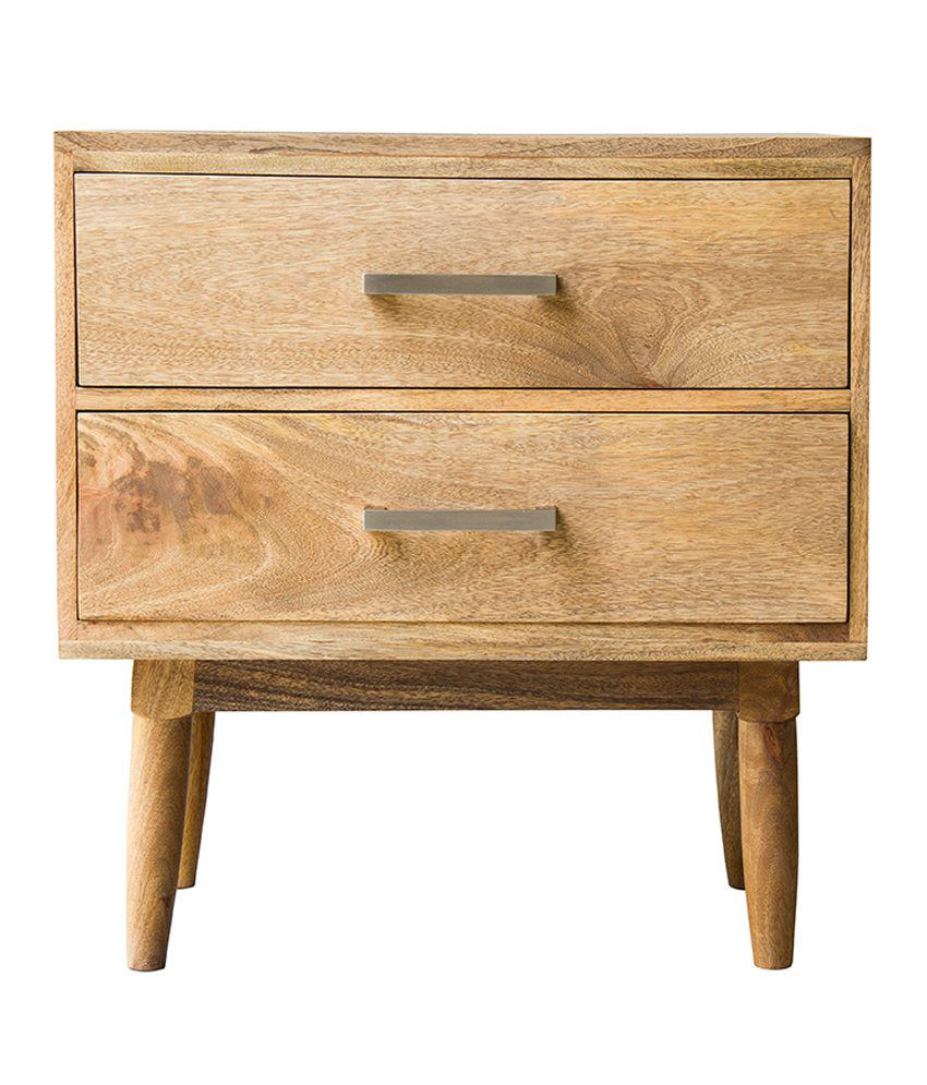 Inliving Montana Solid Wood Night Stand