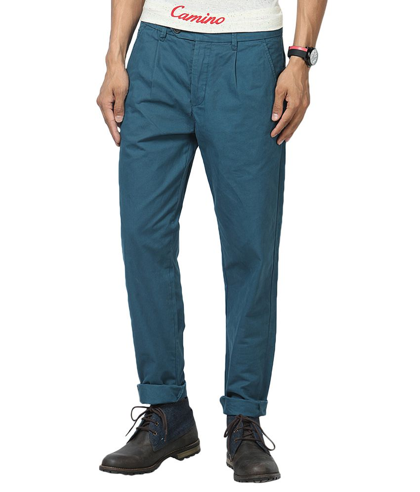Jack & Jones Blue Slim Fit Trousers