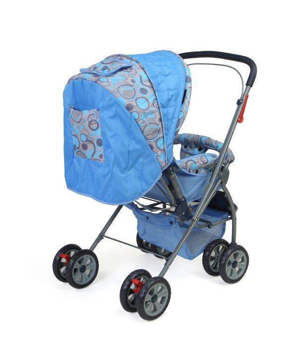 Luvlap Baby Stroller Pram Starshine Sky Blue 18139 Buy