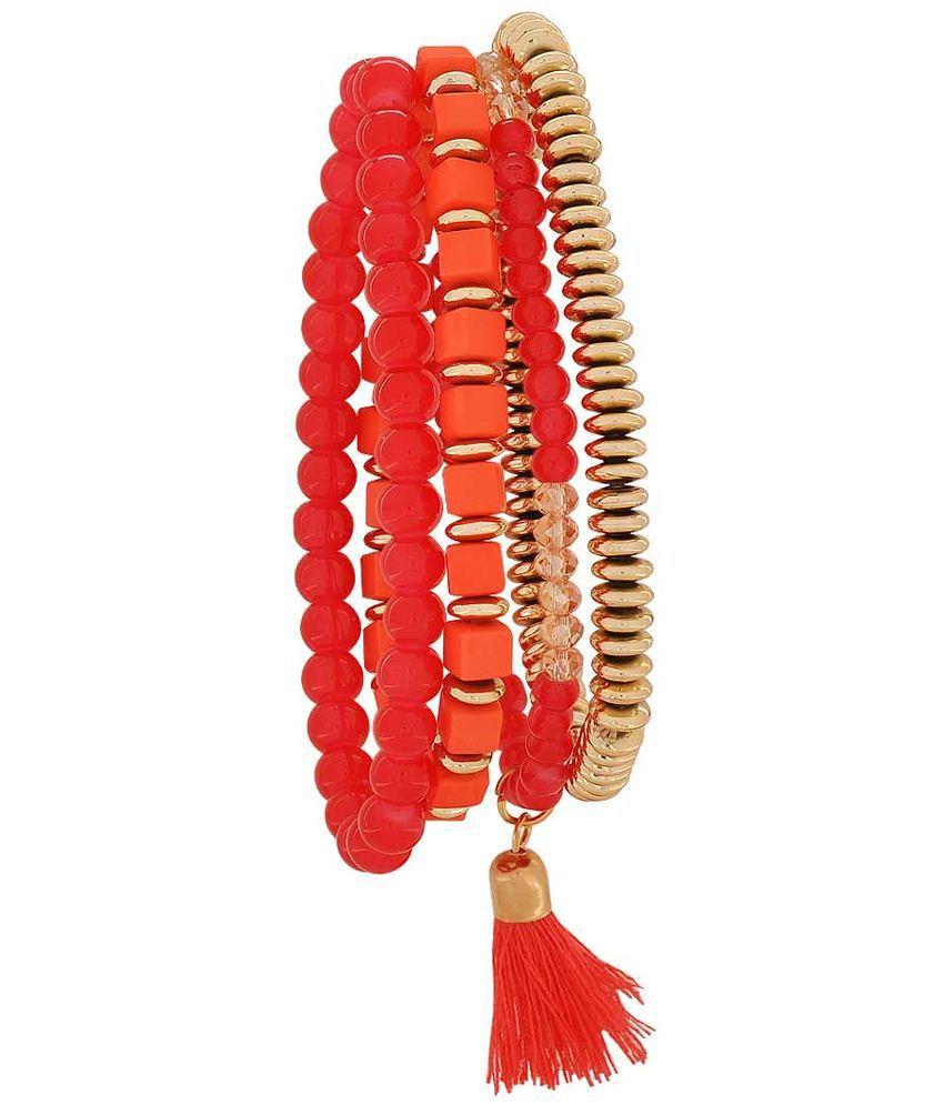 Maayra Red Bracelet