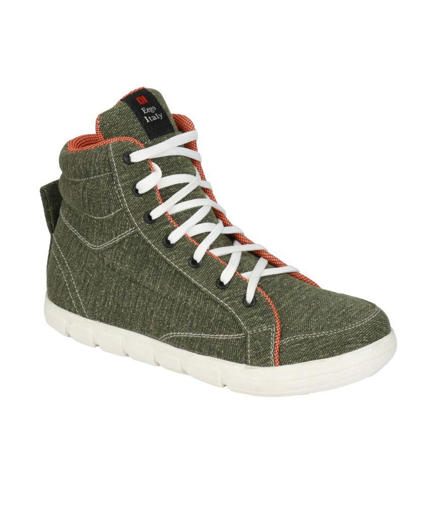 Eego Italy Green Boots