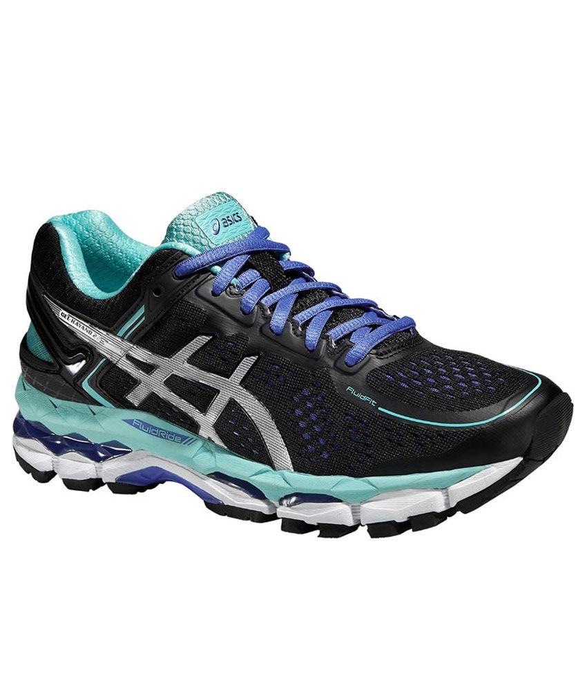 Asics Gel Kayano 22 Black Sports Shoes Price in India Buy