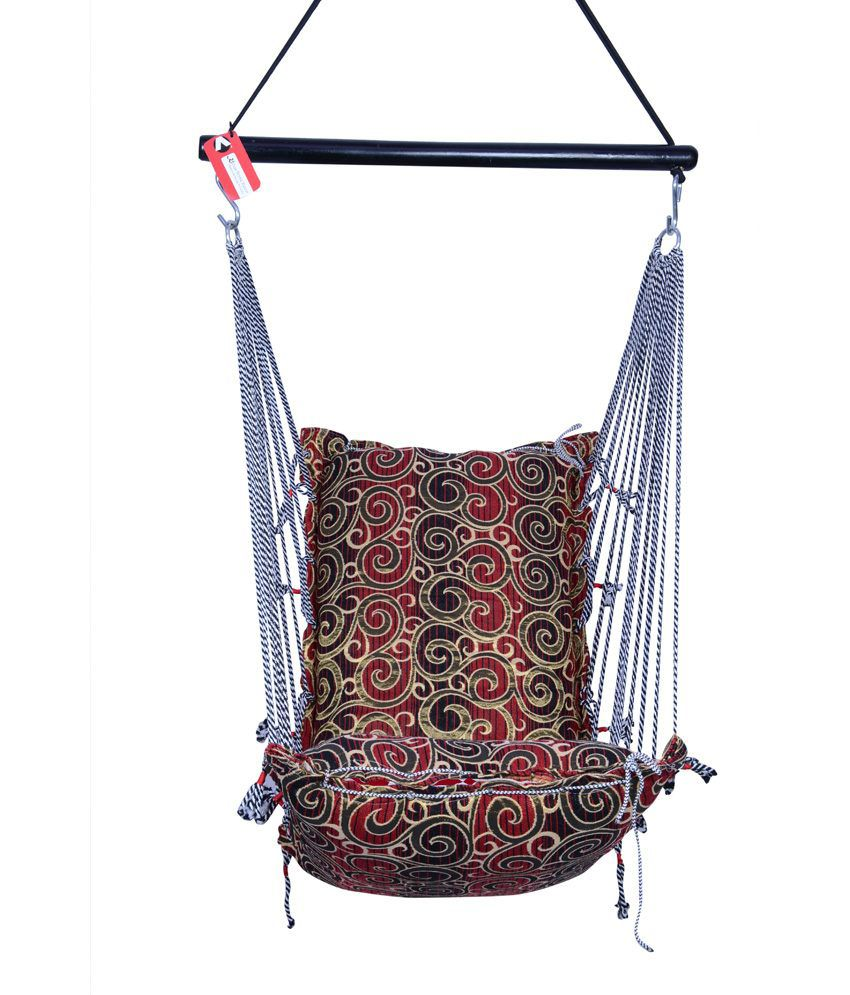 Kkriya Home Decor Black N Brown Jumbo Swing Buy Kkriya Home Decor Black N Brown Jumbo Swing