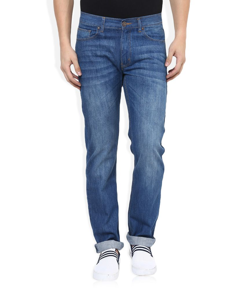 Newport Blue Regular Fit Jeans