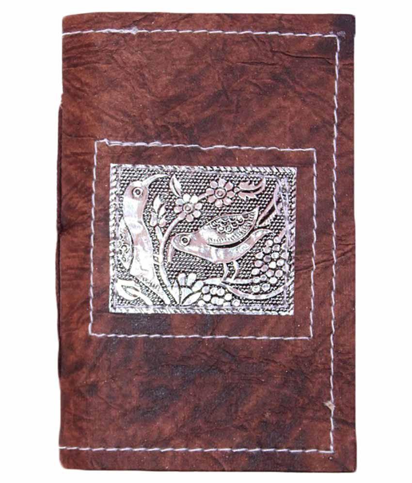 R Store Animal Print Diary - Brown