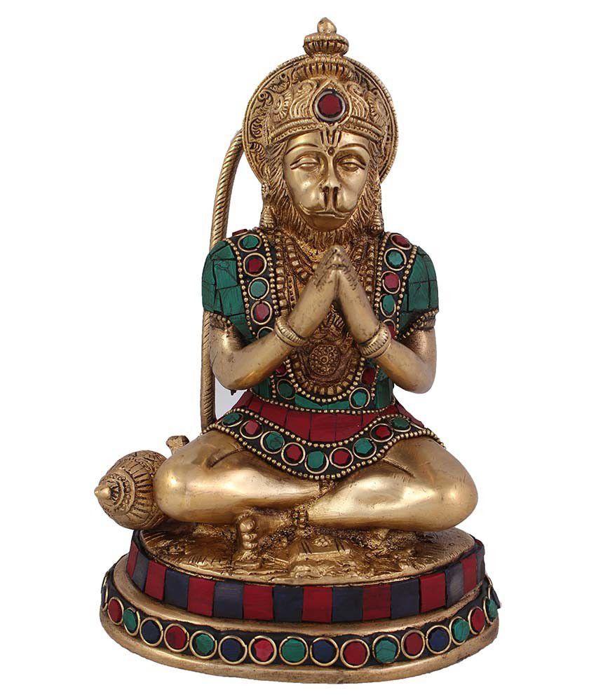 Arihant Craft Hanuman Brass Idol