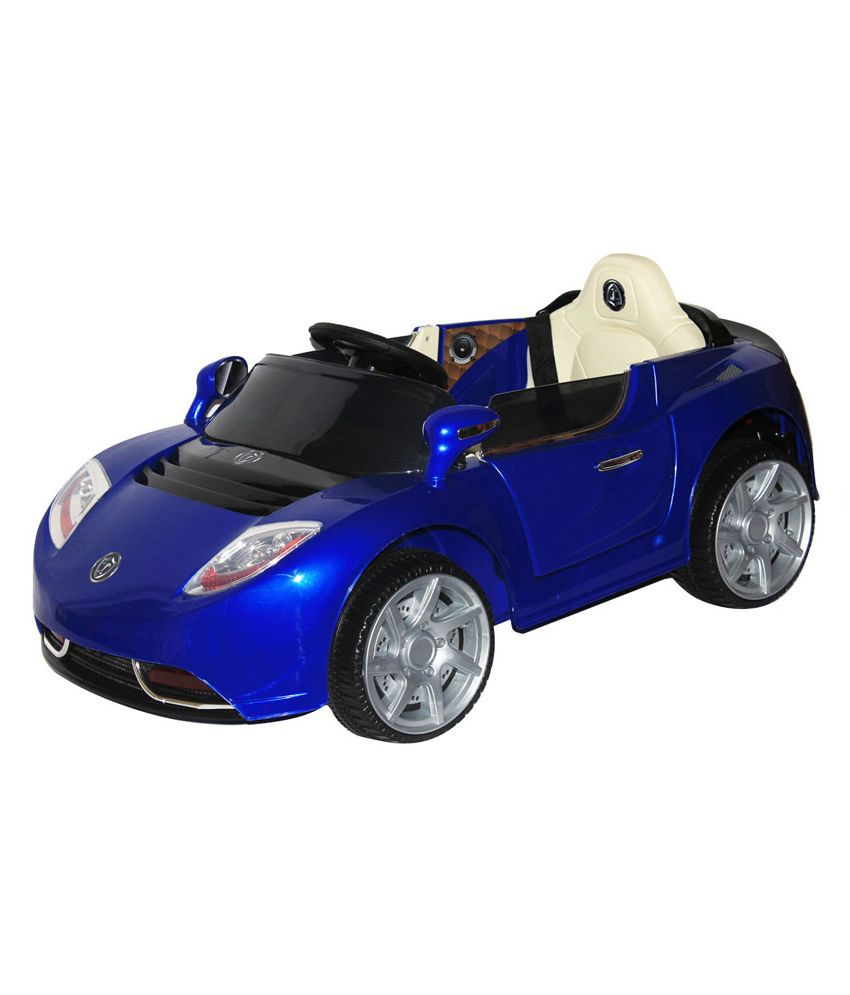 Brunte Blue Plastic Car