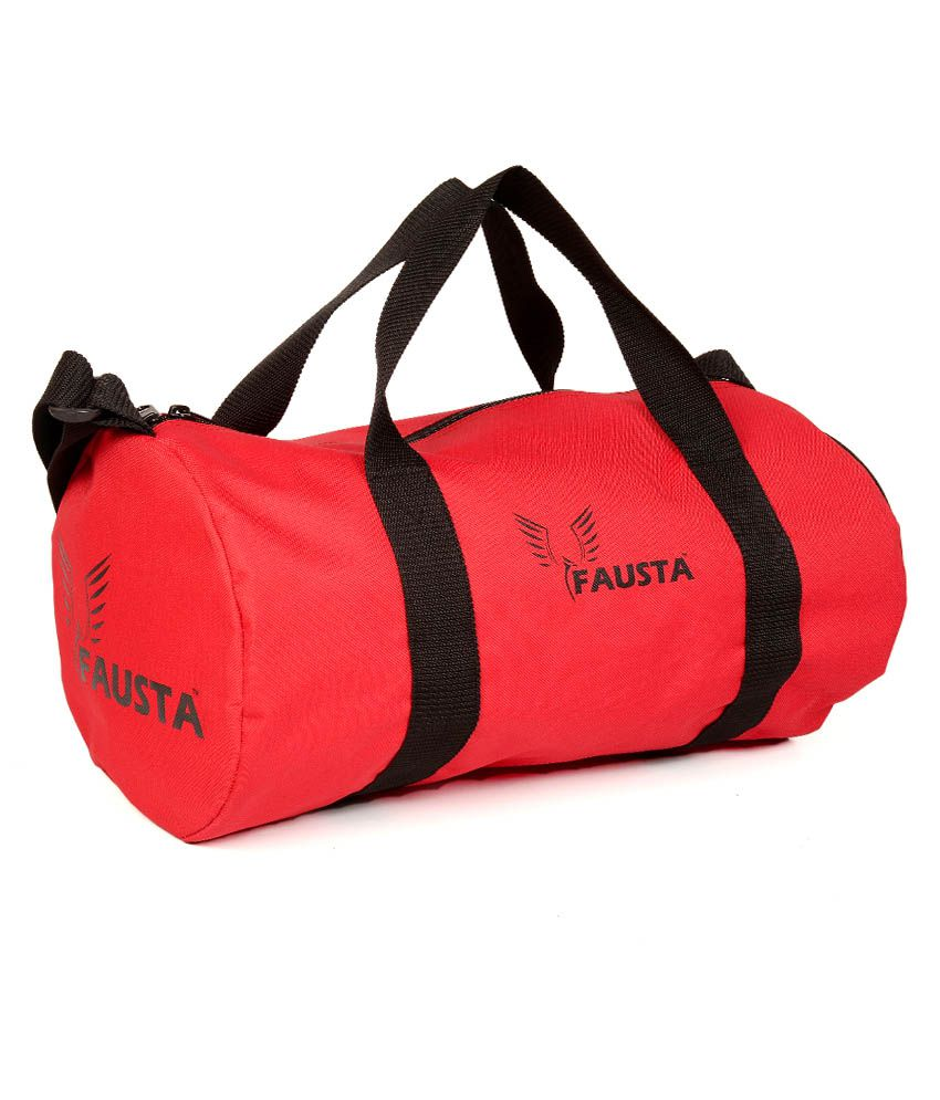 Fausta Red Gym Bag
