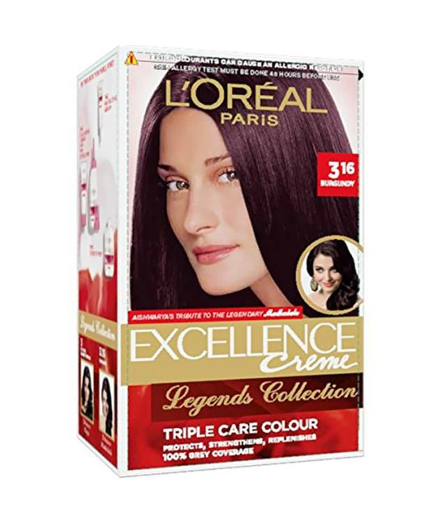 Loreal Excellence Burgundy No 3 16 Hair Color 172 Ml