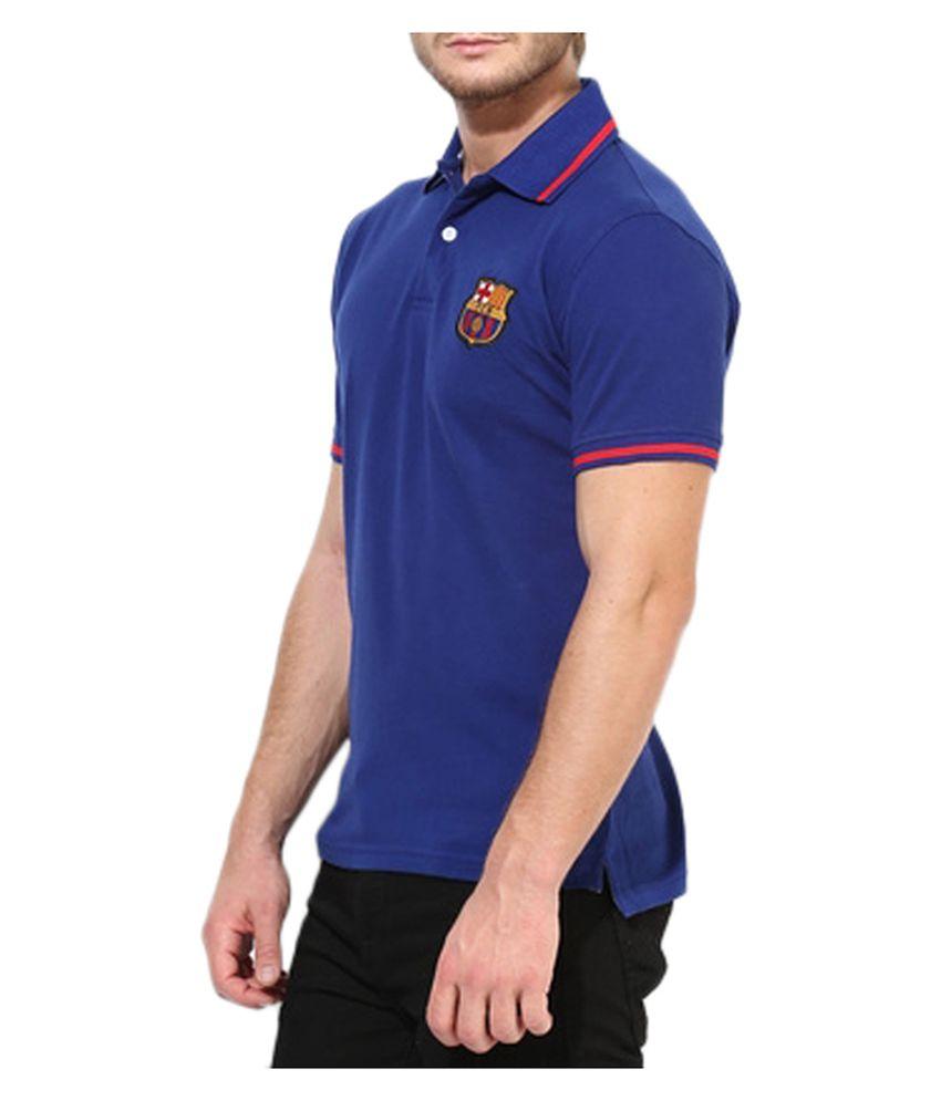 197235f1 Barcelona T Shirt Mens Polo - Buy Barcelona T Shirt Mens Polo Online ...