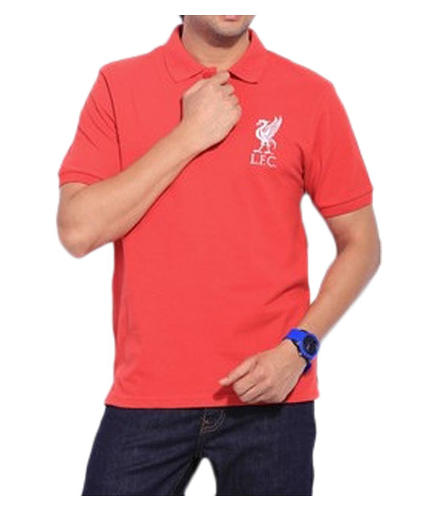 Liverpool F.C. T Shirt Mens BASIC POLO