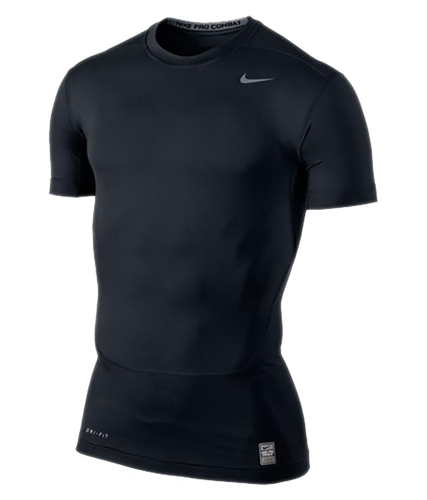Nike As Core Compression Ss Top 2.0 - Blue
