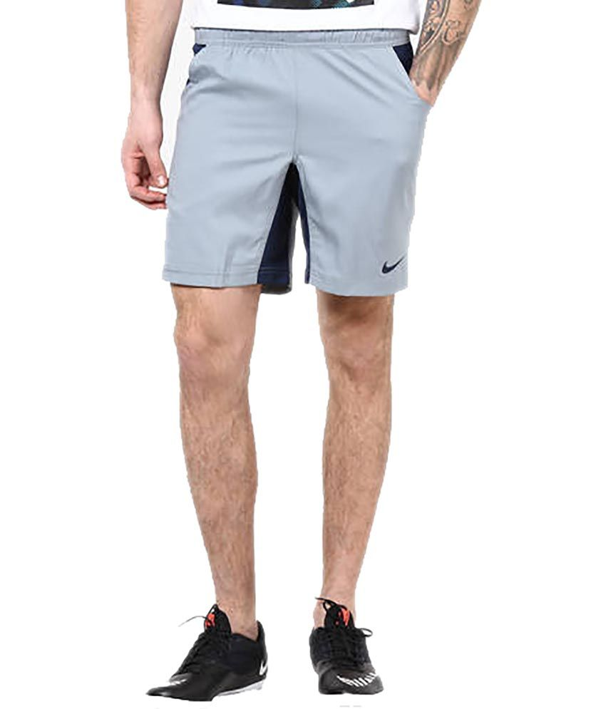 Nike As Em Ts Crkt Hitmark Woven Shorts - Grey