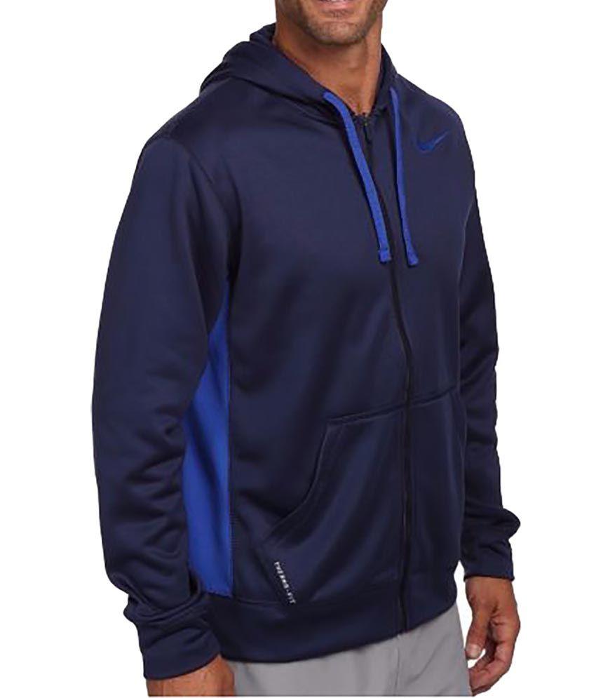 Nike As Nike Ko Full Zip Hoodie 2.0 jacket - Midnight Navy/Game Royal/Game Royal
