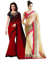 Snapdeal Bhuwal Chiffon Combo Offers
