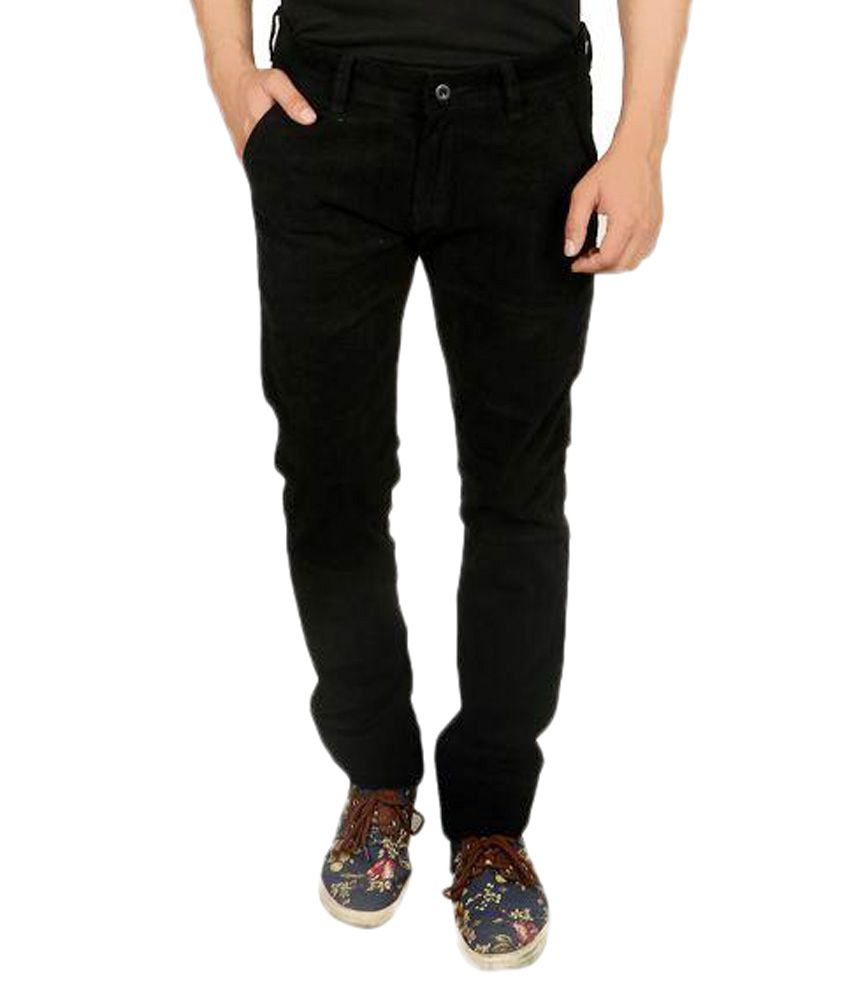 Nimegh Black Slim Fit Chinos