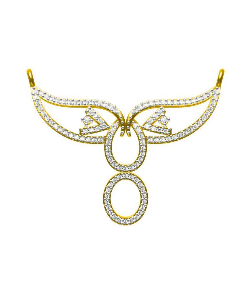 Sakshi Jewels 14 Kt Gold BIS Hallmarked Mangalsutra