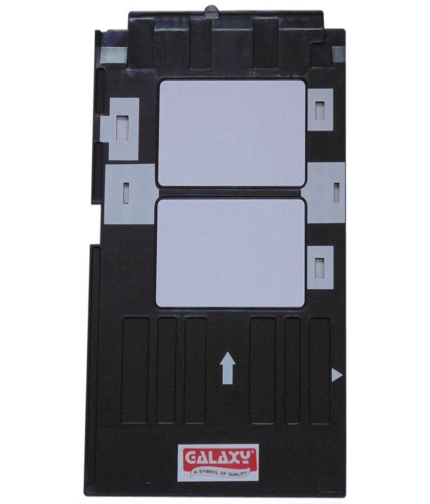 Galaxy PVC ID Card Tray for Epson L800,L805,L810 Inkjet Printer