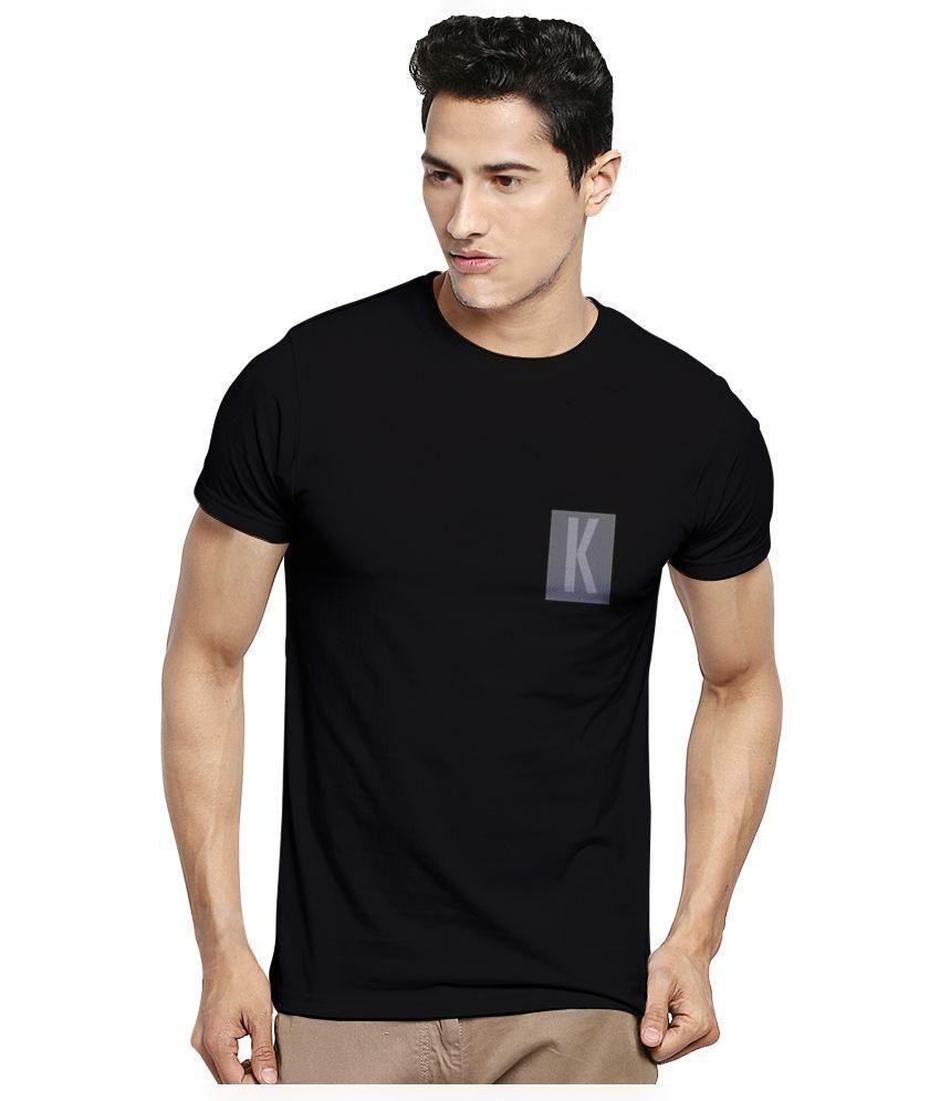 Kavit Hub Black Round T Shirt