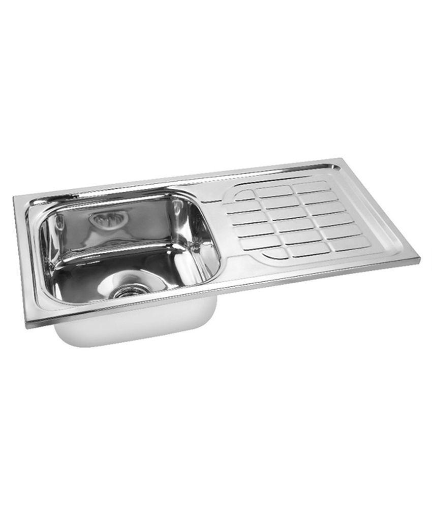 Buy Radium Stainless Steel Kitchen Sink Bowl Drainboard