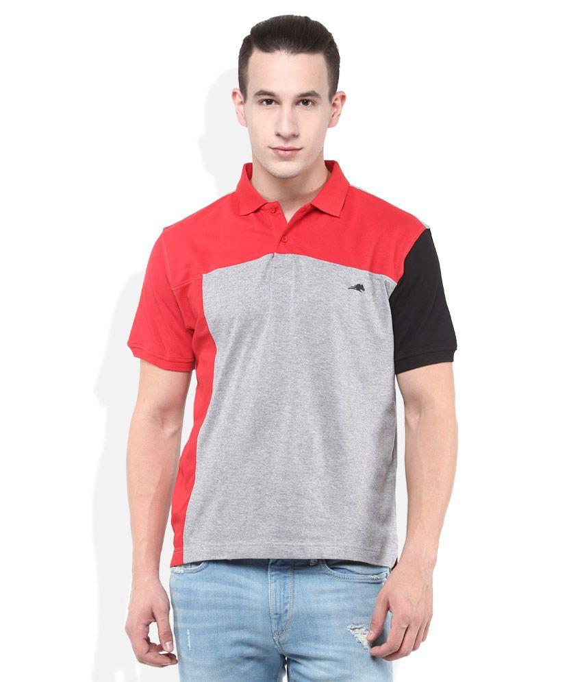2Go Gray Polo T-Shirt