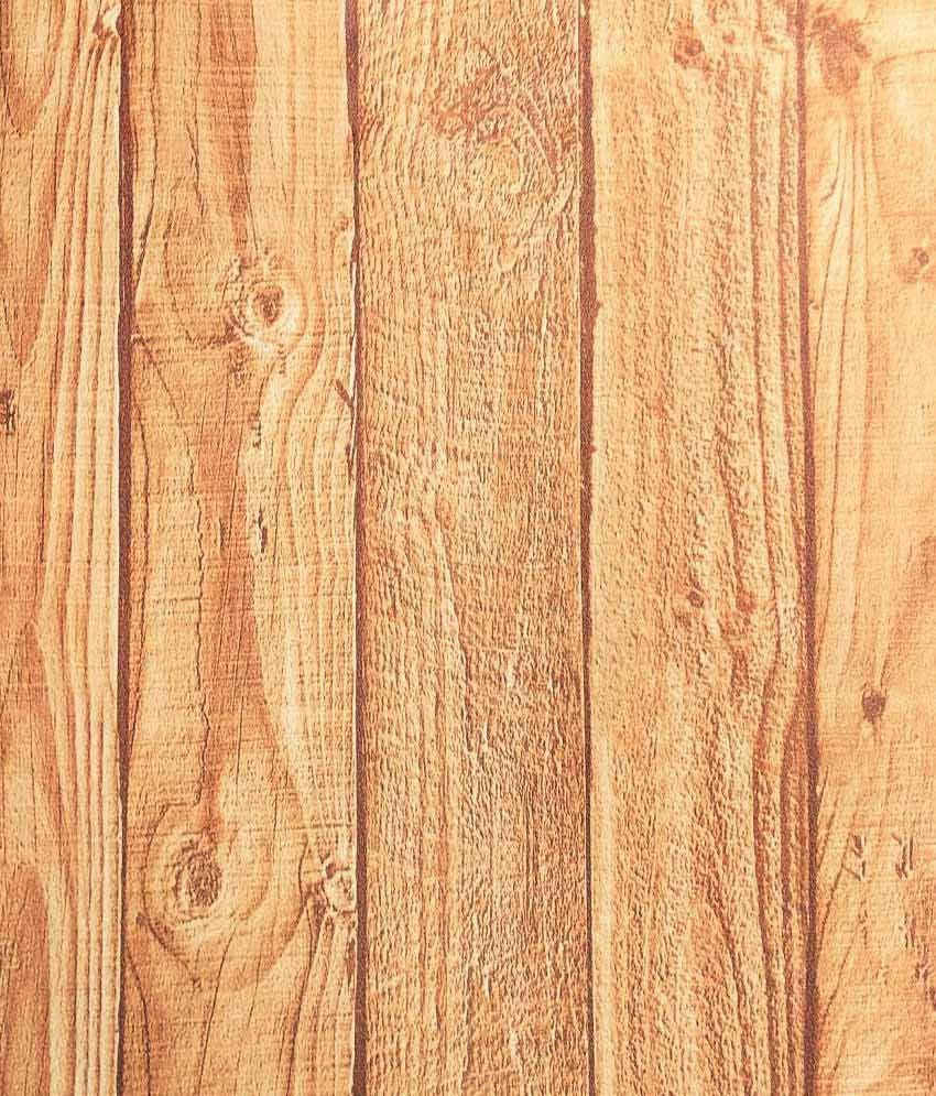 Samson India Natural Wood Look Design Wallpaper Roll