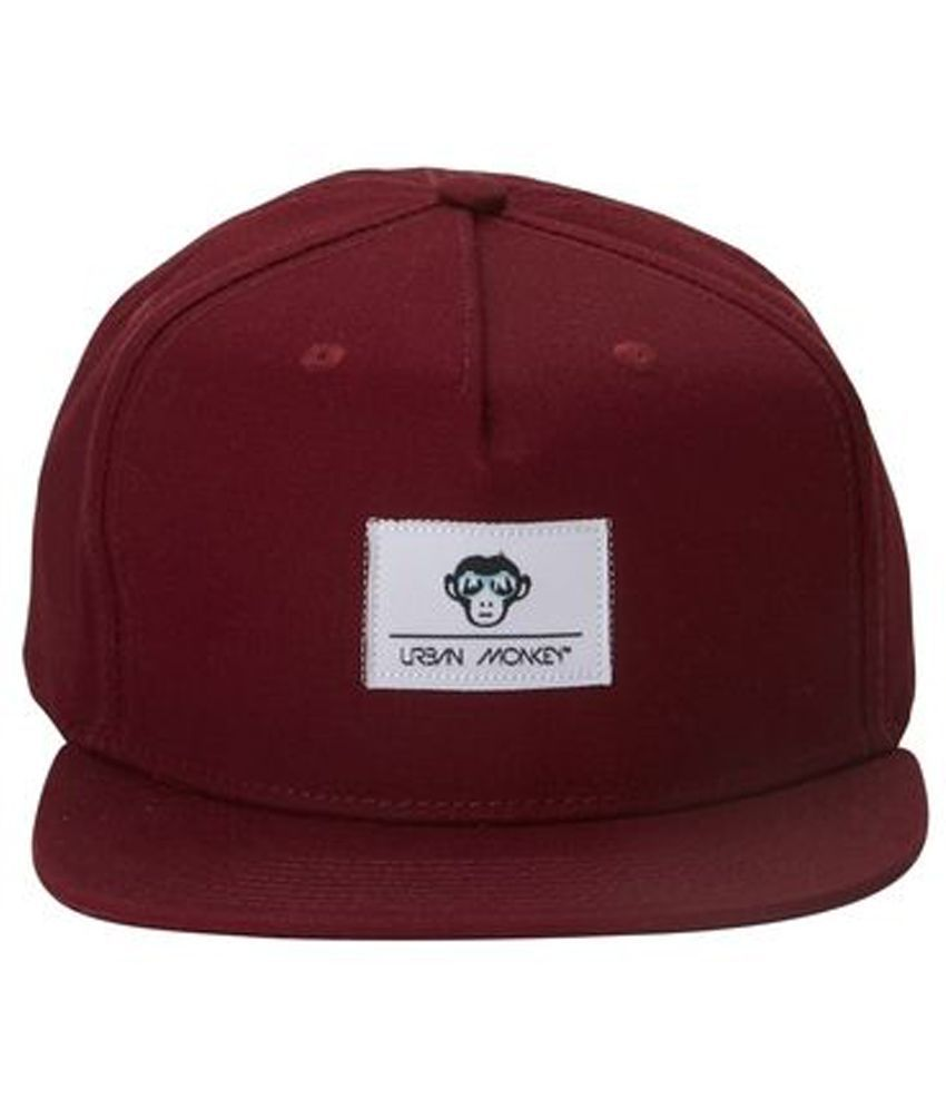 Urban Monkey Red Baseball Cap