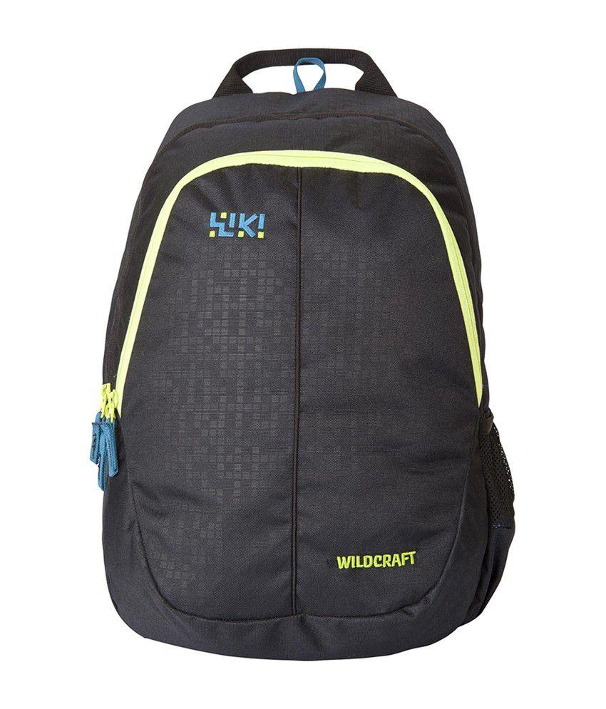 Wildcraft Bricks 1 Black 27 Polyester Casual Backpack
