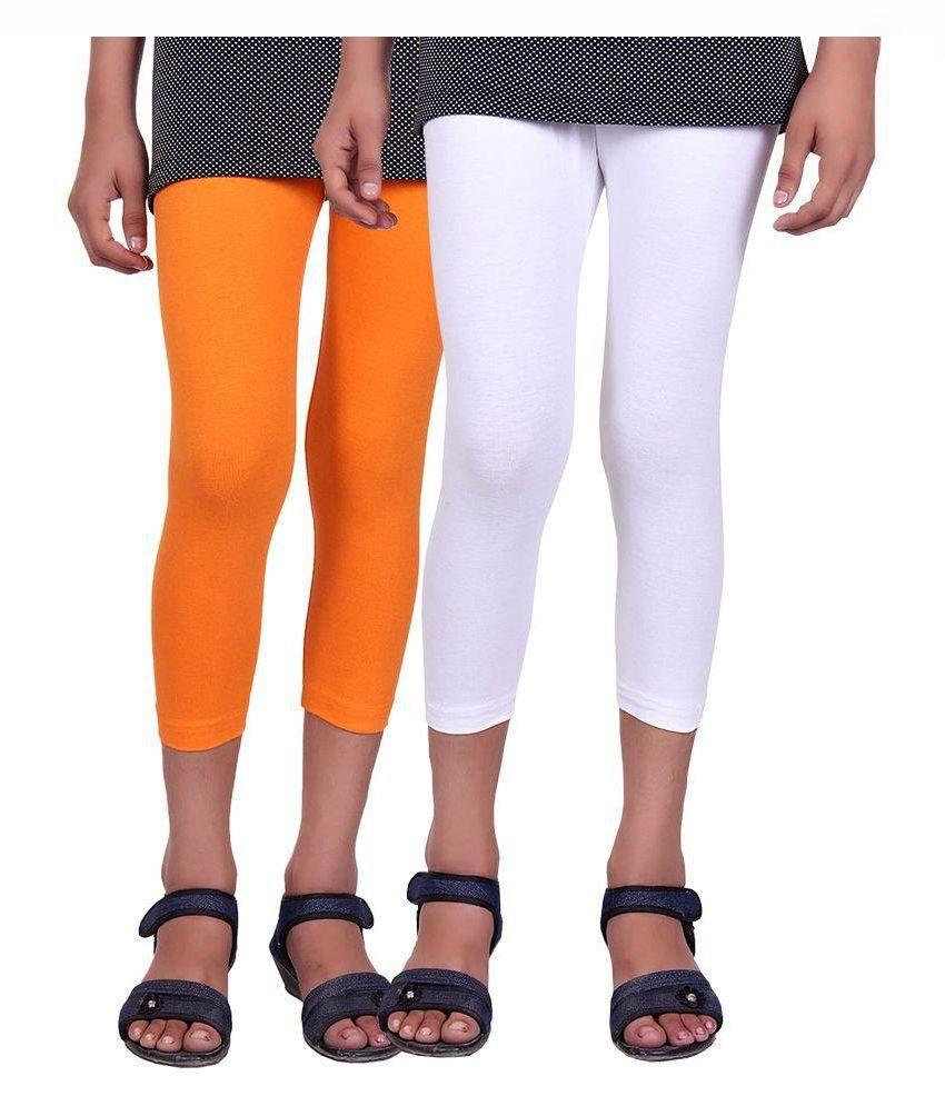 Alisha Cotton Multicolor Capri - Pack of 2