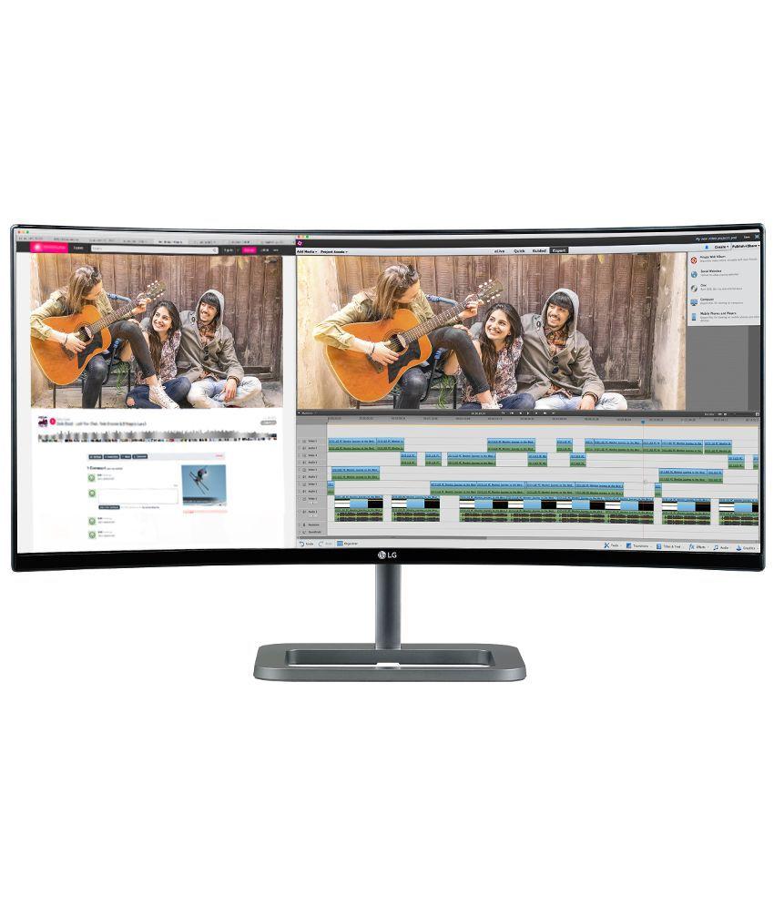 LG 34UC87C-B 34 Inch Ultrawide Full HD IPS Display Monitor - Black