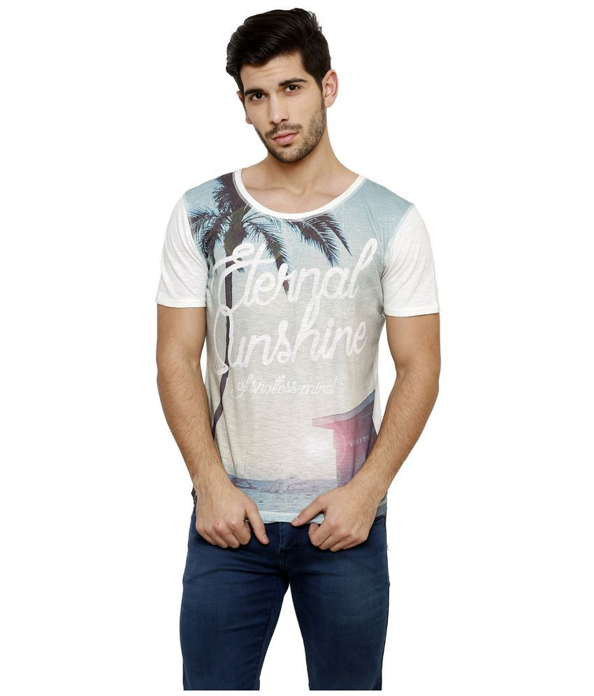 Desinvolt Multi Round T Shirt