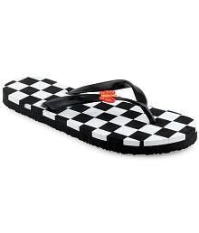 Shoe Lab Black Slippers
