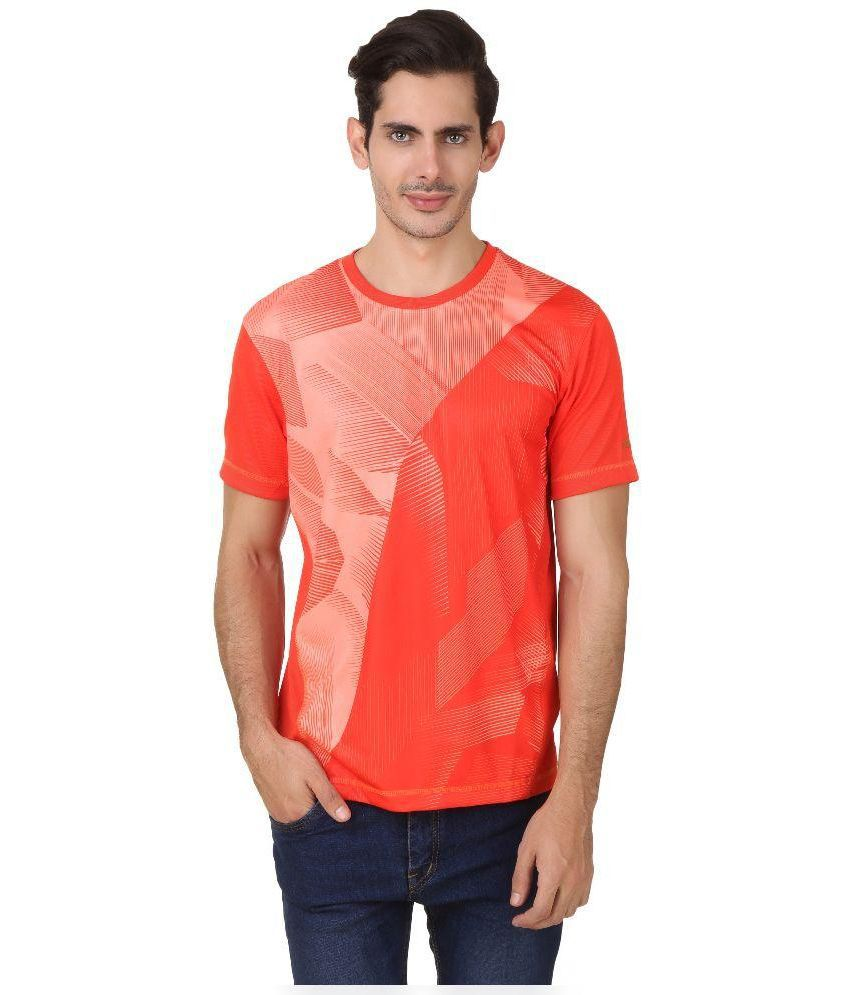 2go Orange Round T Shirt