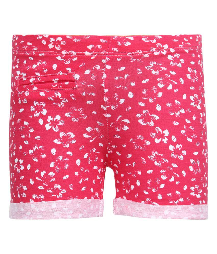 United Colors of Benetton Red Shorts