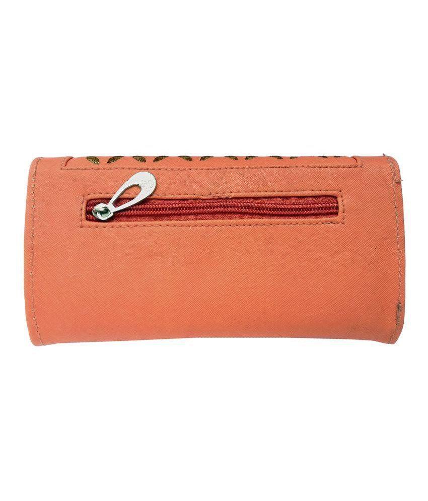 Finecraft Orange Wallet