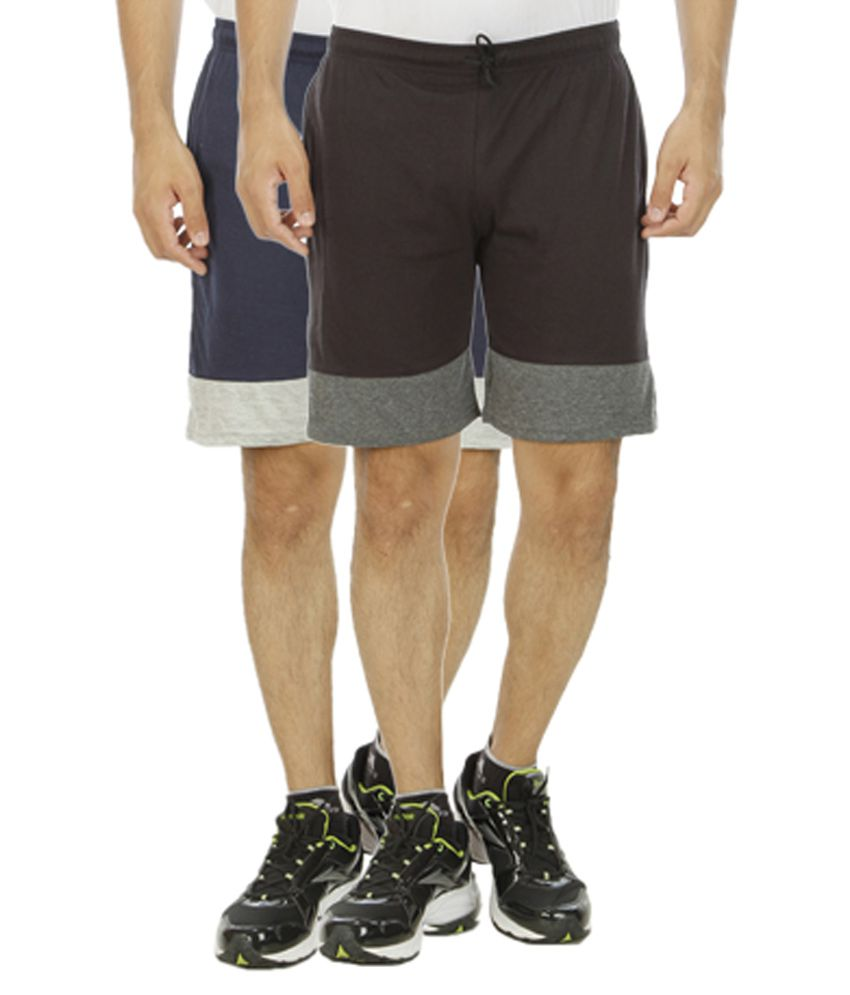Hardy's Collection Multicolor Shorts Pack of 2