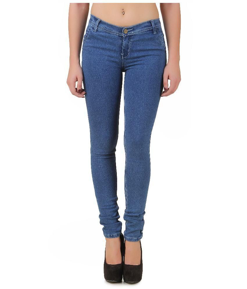 Buy New Pearl Blue Denim Jeans Online at Best Prices in India - Snapdeal