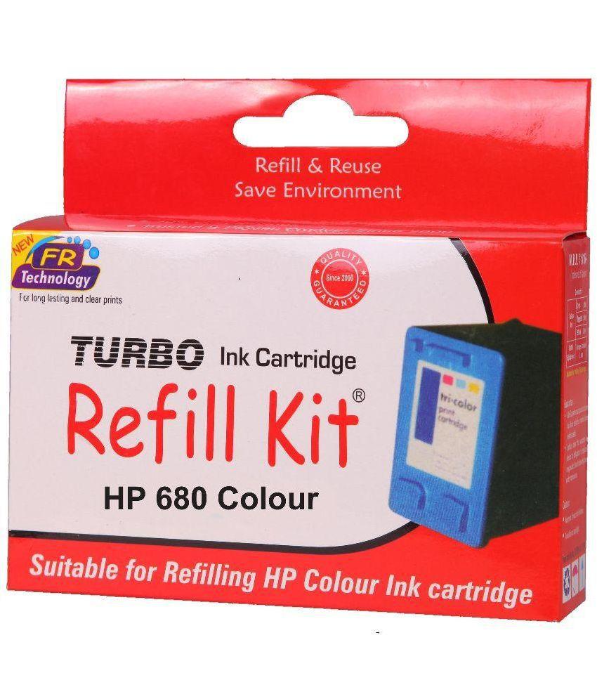 Turbo Refill Kit For Canon Pg 745 Black Cartridge Price In India Hp 680