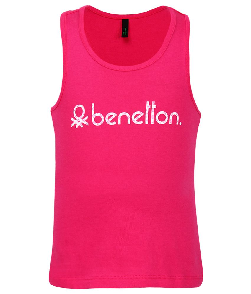 United Colors of Benetton Pink Tops