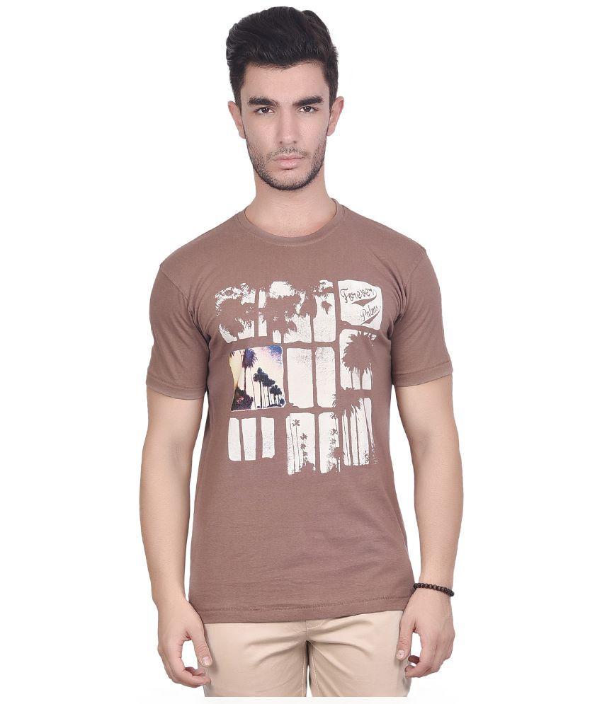 Chevy Brown Round T Shirt