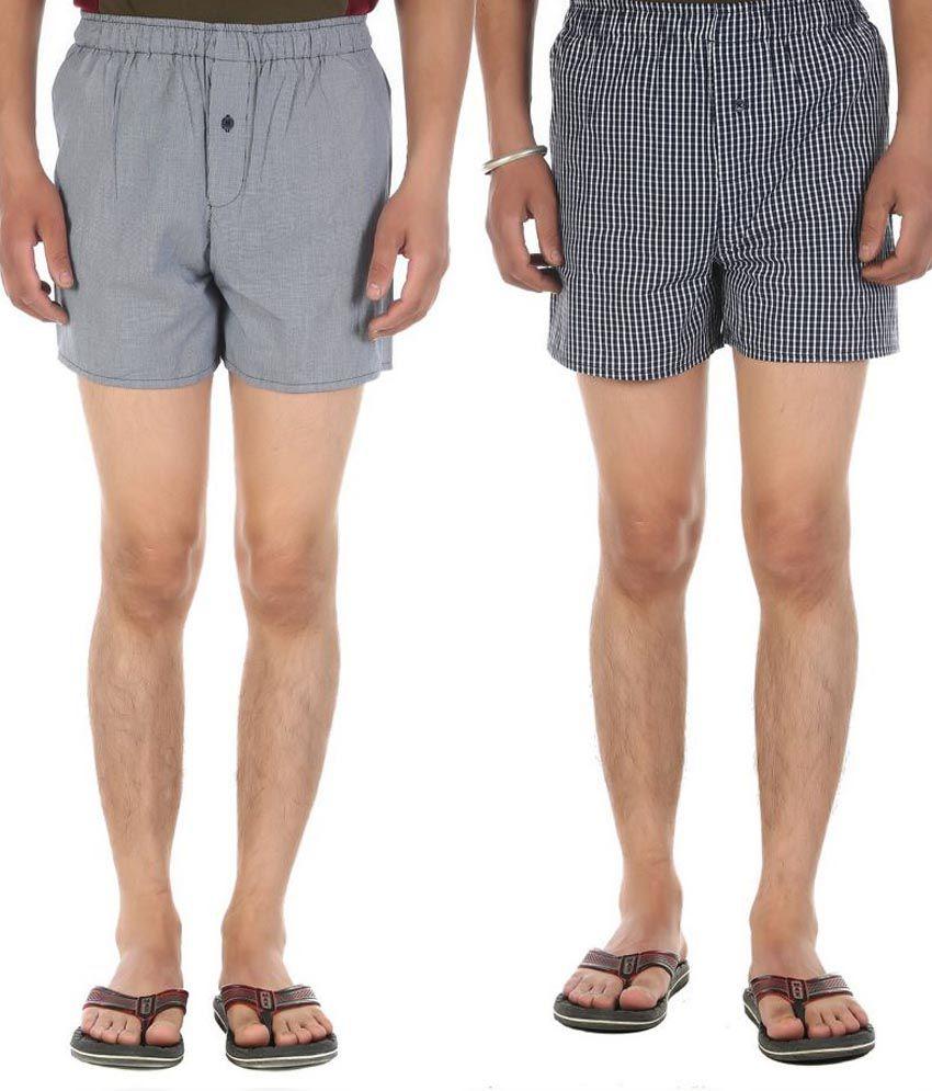 Ewan Multi Shorts Pack of 2