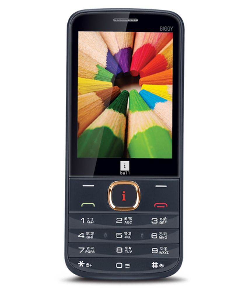 iBall 3.2H Biggy ( Black )