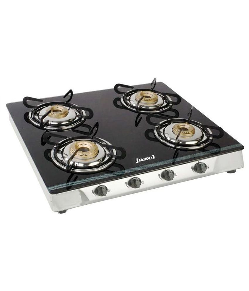 Jazel Sparkle Manual Ignition Gas Cooktop (4 Burner)
