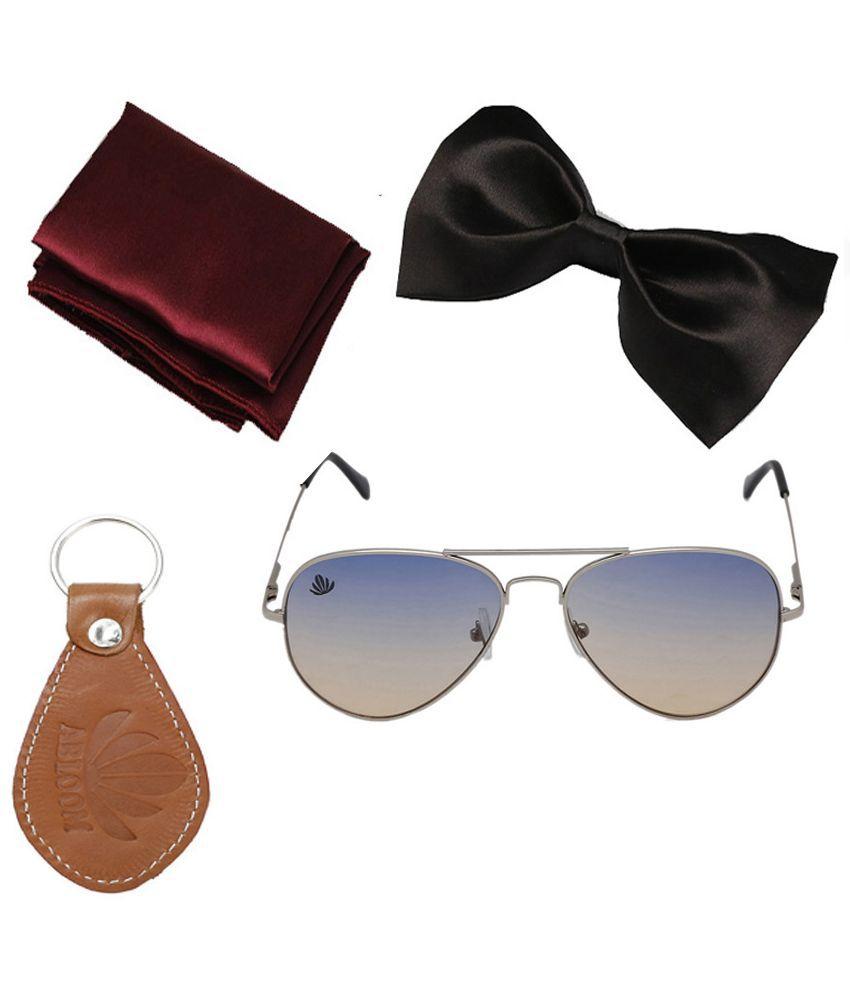 Abloom Blue Aviator Sunglasses ( Sg_B_H_K16 )