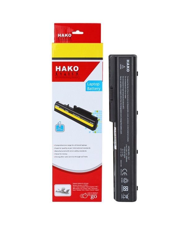 Hako HP Compaq Pavilion DV7t-2200 6 Cell Laptop Battery