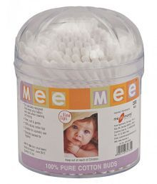 Mee Mee Baby White Cotton Buds-200 Pcs